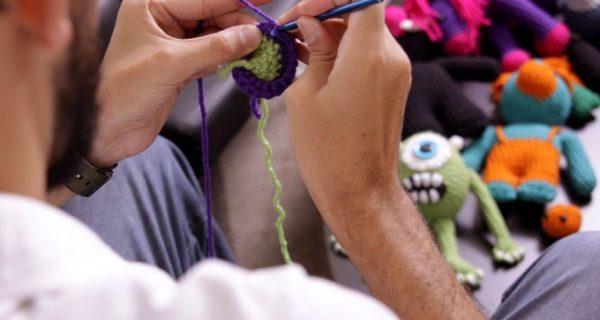 o crochê na terceira idade