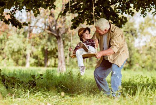 Os avós não só educam os netos