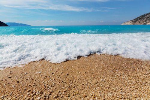 andar na praia