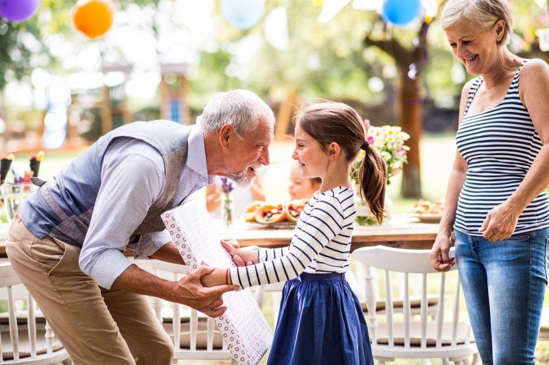 relacionamento com os netos