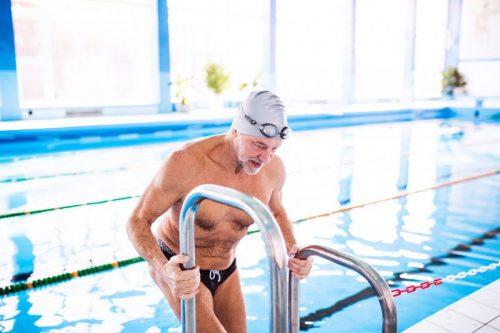 natação na terceira idade