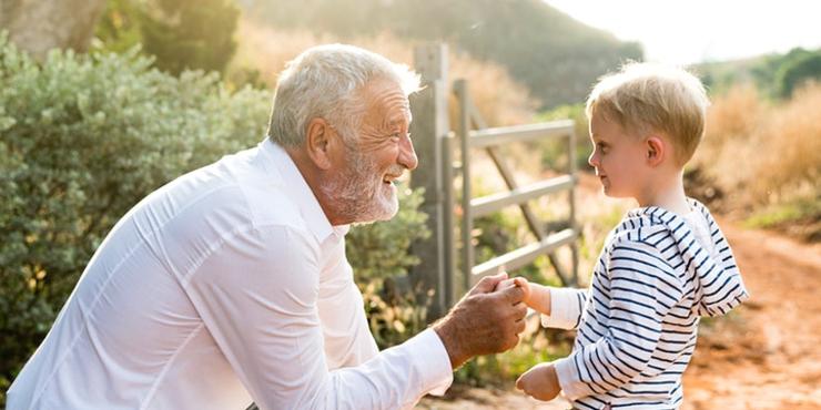 Seja o exemplo para os seus netos