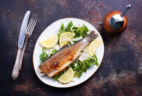 peixes na alimentação dos idosos