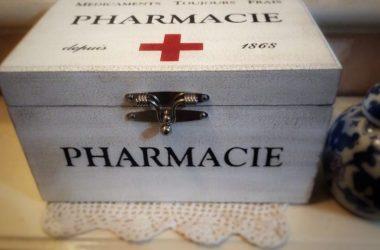 caixa de remédios para organização