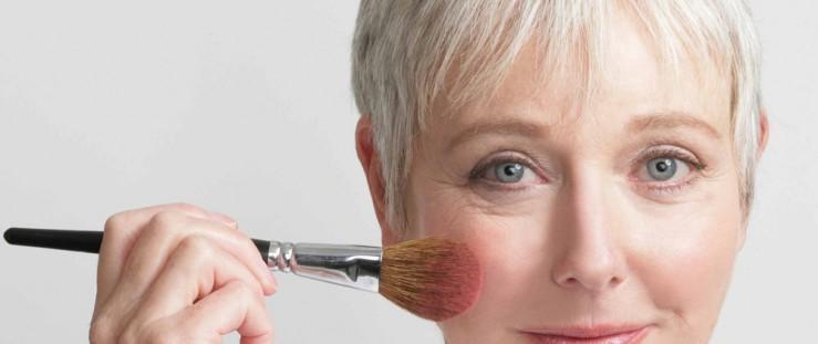 pele madura maquiagem