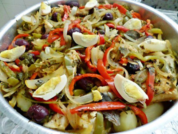 bacalhau ao forno com batatas