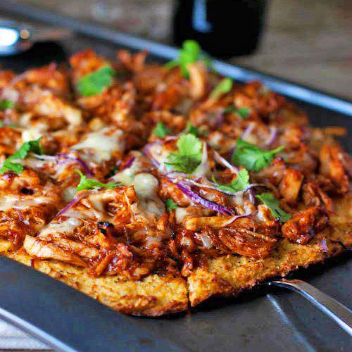 pizza quadrada integral