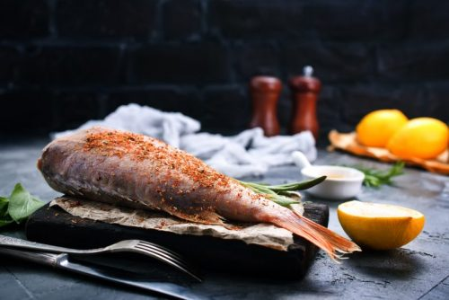 os peixes na alimentação dos idosos