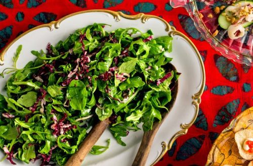 saladas ideais para idosos