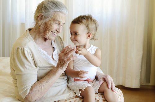 idosos e crianças