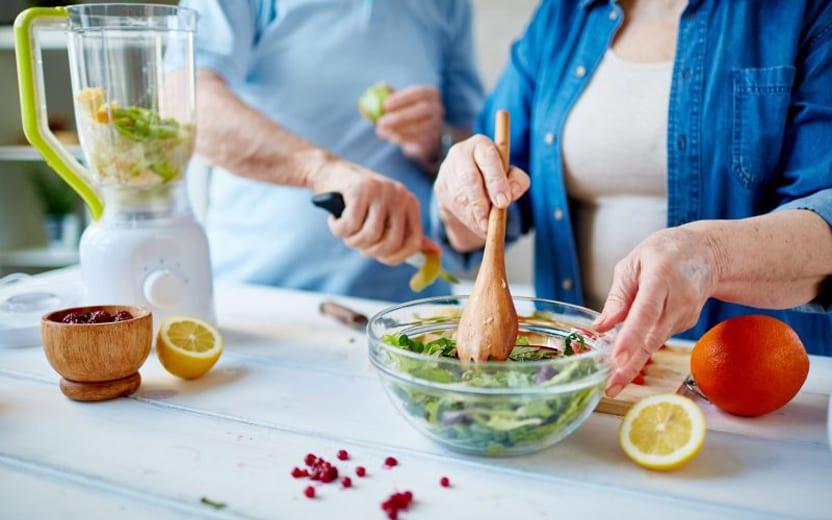 os alimentos para idosos