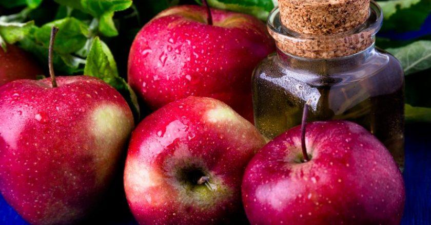 maçã para os idosos