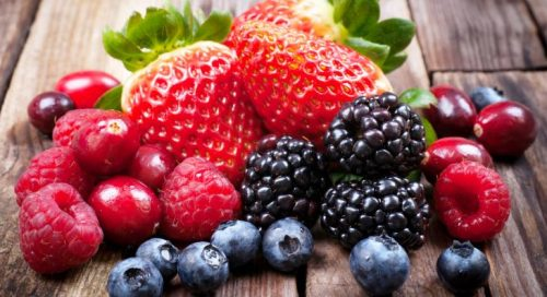 Resultado de imagem para frutas vermelhas para idosos