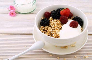 iogurte com granola