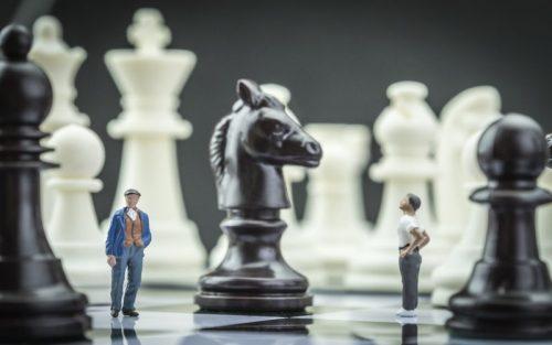 jogo de xadrez para os idosos