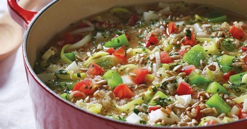 quinoa saudável para os idosos