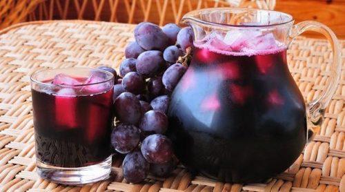 suco de uva escura