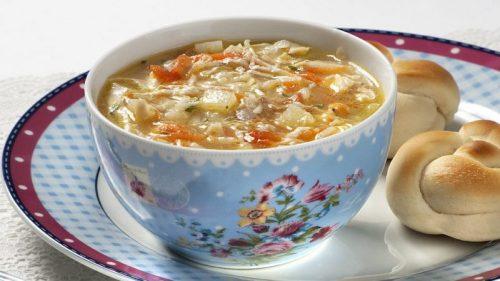 sopa para idosos