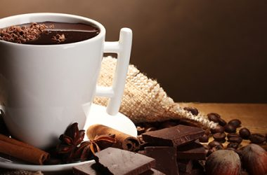 receitas simples de chocolate quente