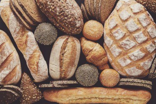 Pão nutriente e calorias