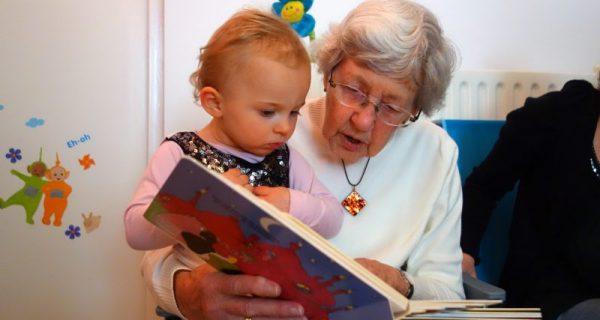 ler para o neto faz bem para o idosos e para o neto também