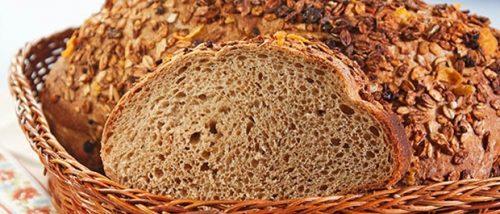 pão de granola integral