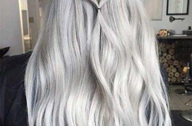 cabelos longos em dias frios