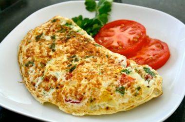 O omelete perfeito preparado pela Vovó