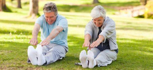 os exercícios físicos para os idosos