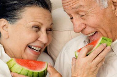 A melancia faz bem aos idosos