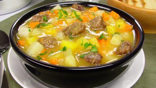 sopa de carne com legumes AVôVó