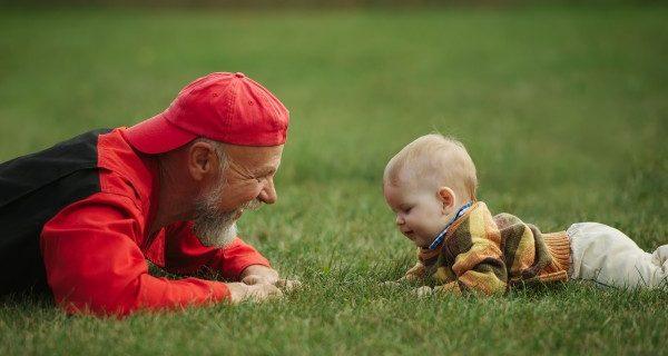 Brincar com os netos