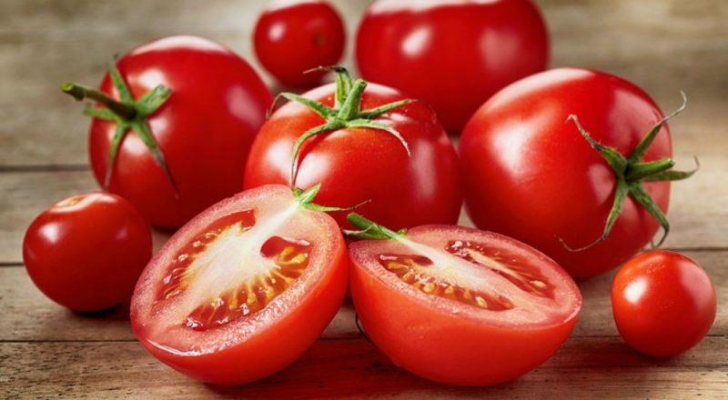 o consumo de tomates pelos idosos