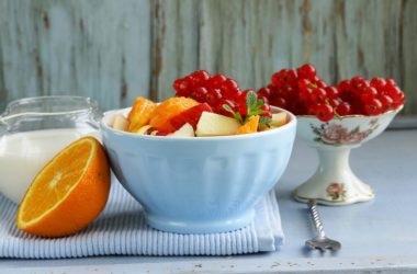 salada de frutas para idosos
