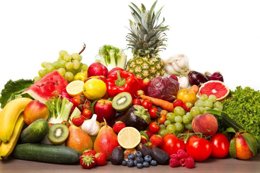 frutas e legumes para os idosos