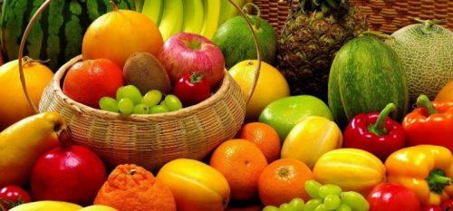 Fruta e legumes para os idosos