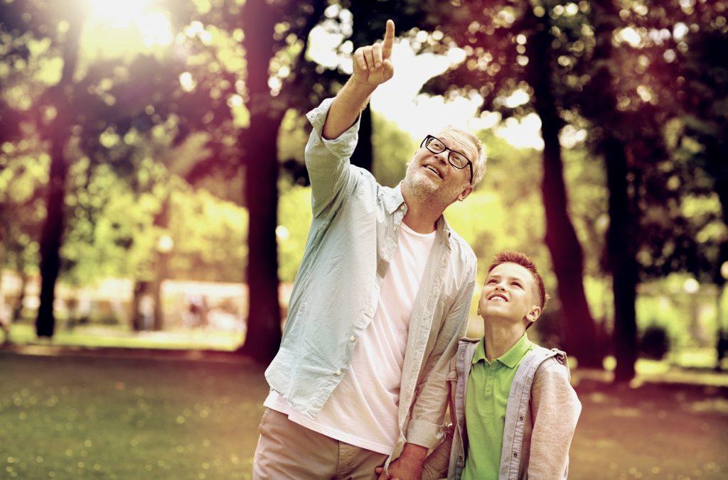 a relação entre avós e netos