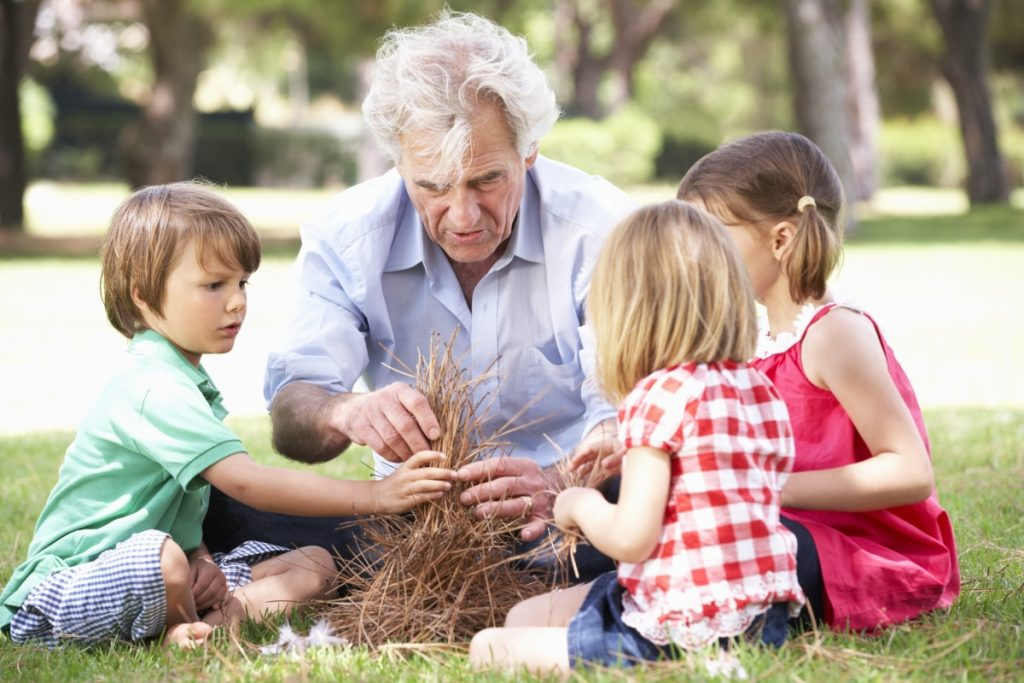 para que servem os avós?