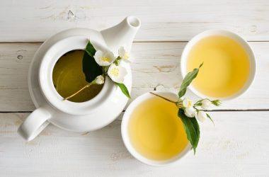 chá branco para os idosos