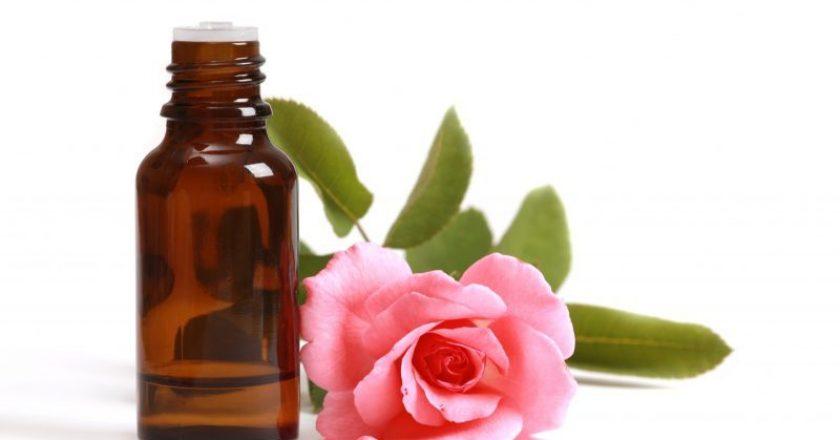 Óleo de rosa mosqueta para pele dos idosos