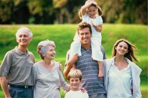 Avós orientam filhos e netos