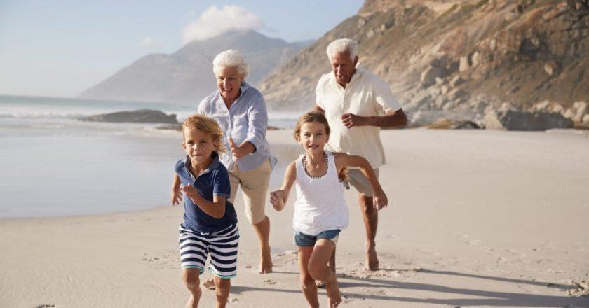 atos que promovem amor entre netos e avós