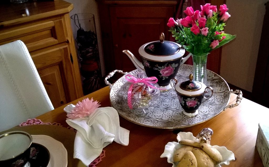 Chá da tarde com as amigas