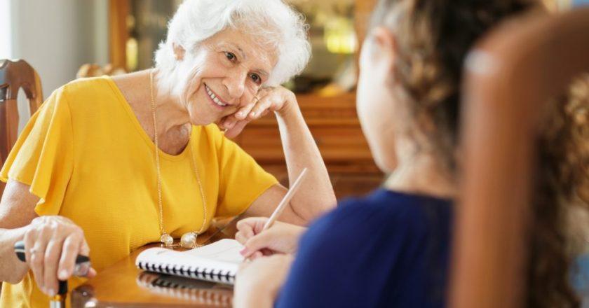 Avós e netos, uma relação de conhecimento e sabedoria