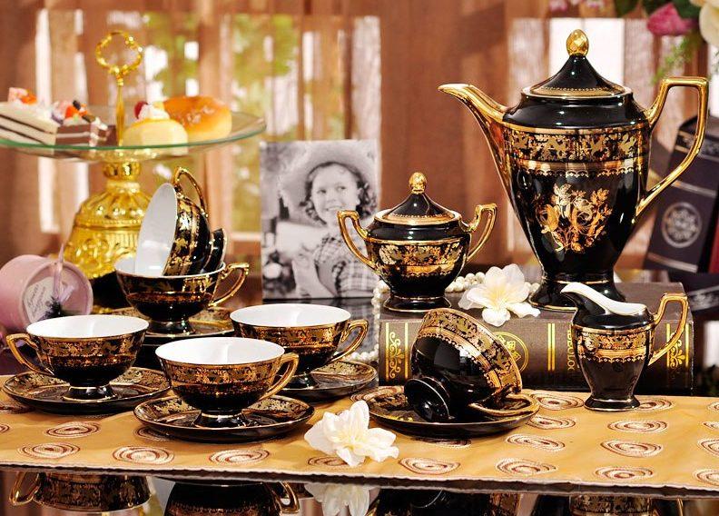 chá quente para idosos