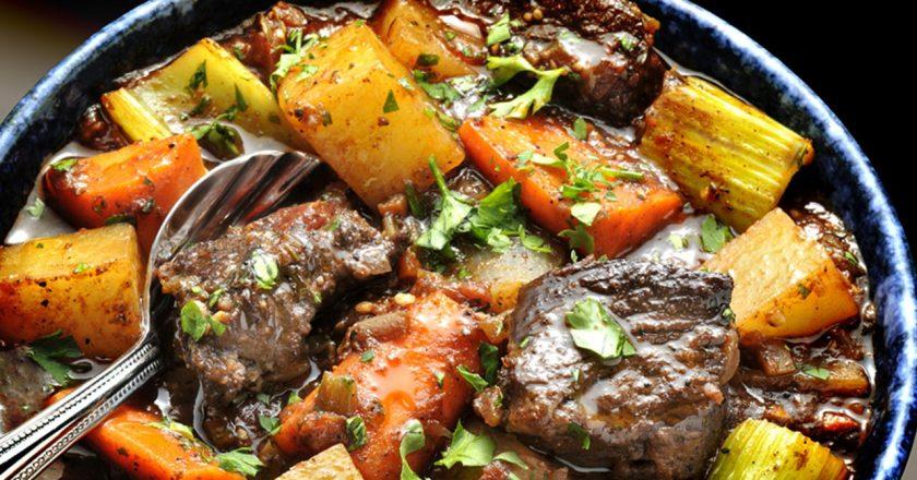 corte de carne para carne de panela