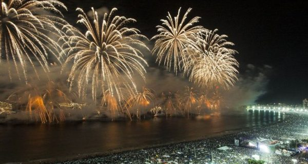 ano novo no Brasil
