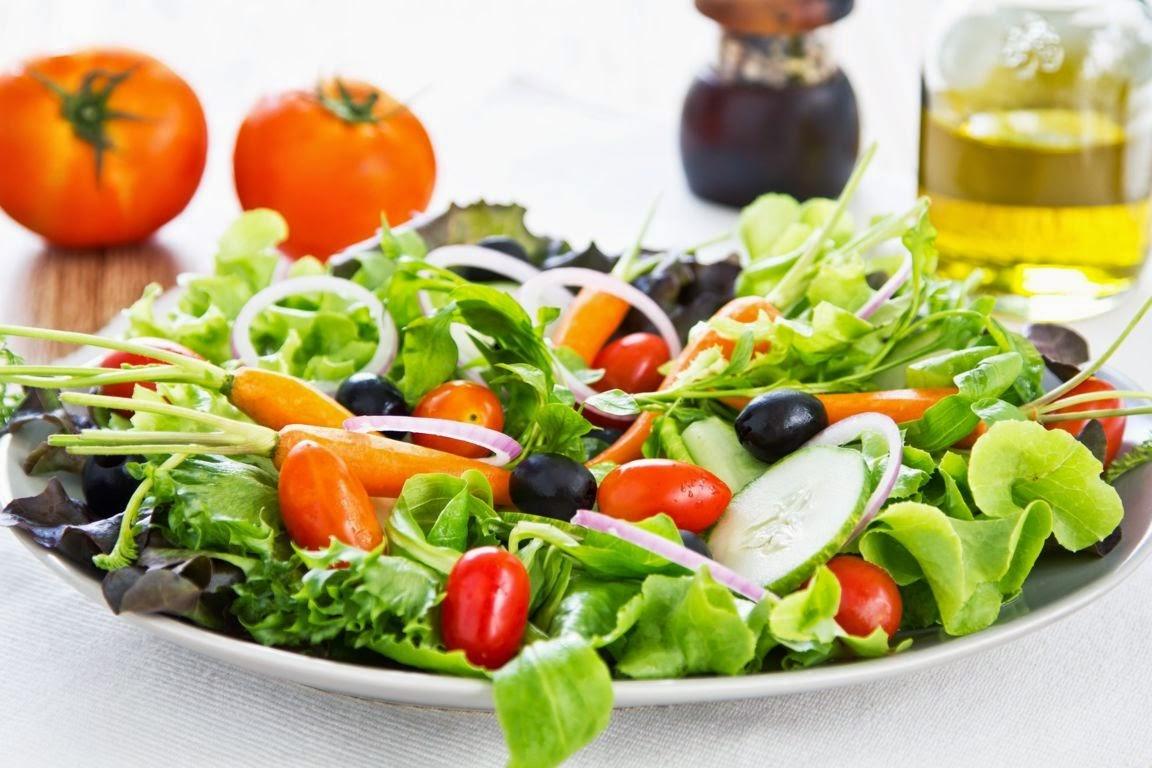saladas para terceira idade
