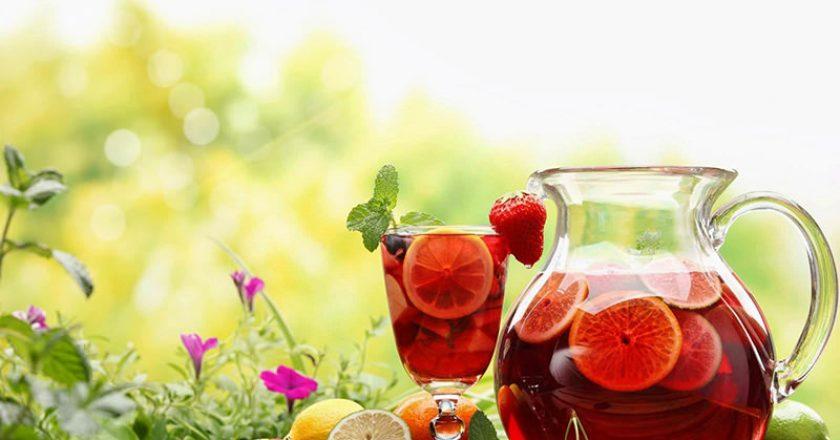 água aromatizada para idosos