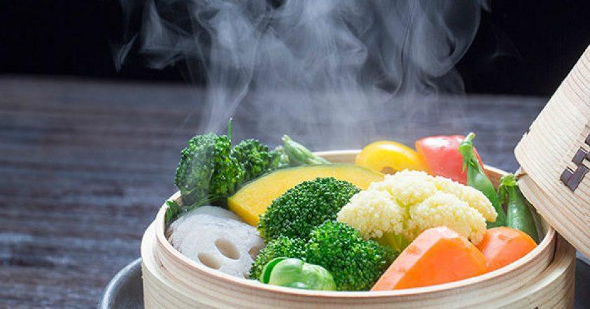 cozinhar a vapor para idosos